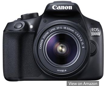 canon dslr camera eos 1300d