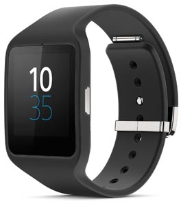 sony smart watch black