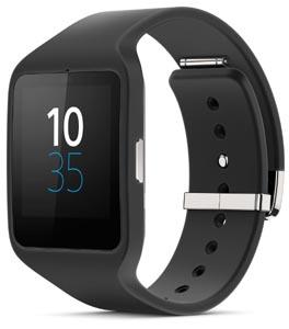 sony smart watch black