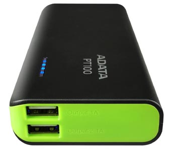 adata pt100 10000mah mobile charger