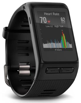 garmin smartwatch with heart rate monitor