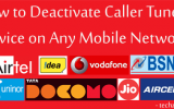 Caller Tune Decactivation SMS Codes List