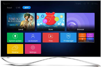 leeco 55 inch android smart tv india