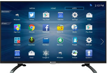 micromax 40 inch canvas smart led tv