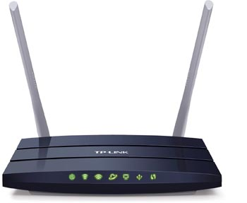 tp link archer ac 1200 router with antena