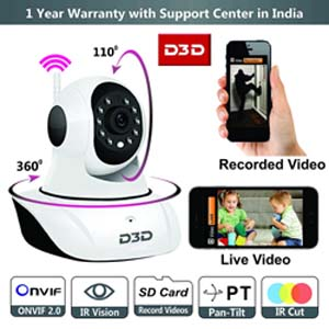 d3d wireless cctv camera