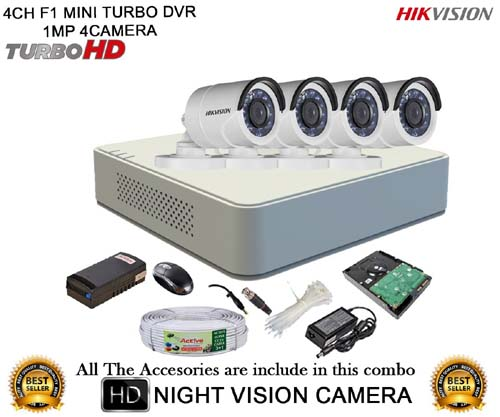 hikvision cctv security camera system