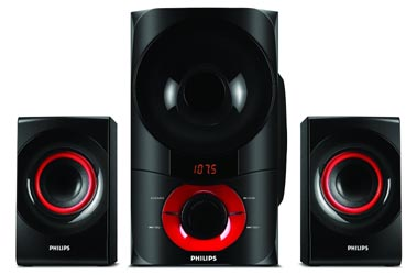 Philips Home Theater with Rich Bass