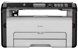 ricoh black and white laser printer
