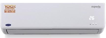 Carrier 1.5 Ton 4 Star Inverter Split AC.