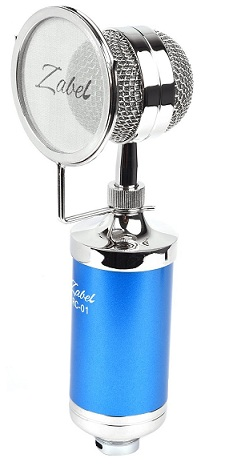 Zabel Condenser Microphone with Shock
