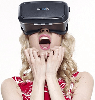 WI WIGGLE VR HEADSET