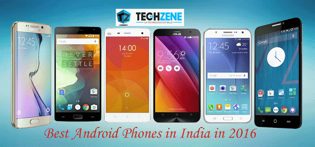 Top Android Phones in India 2016