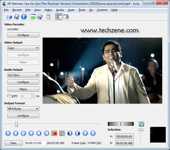 AviDemux MKV, AVI Video Converter Software