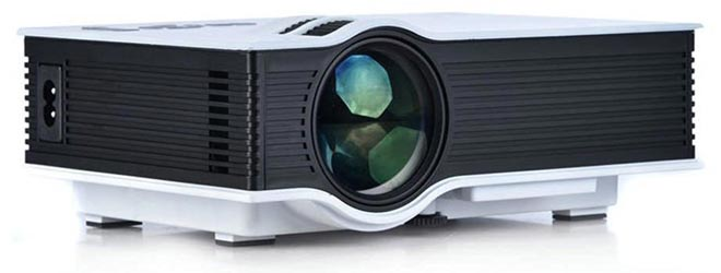 dmg portable projector for home