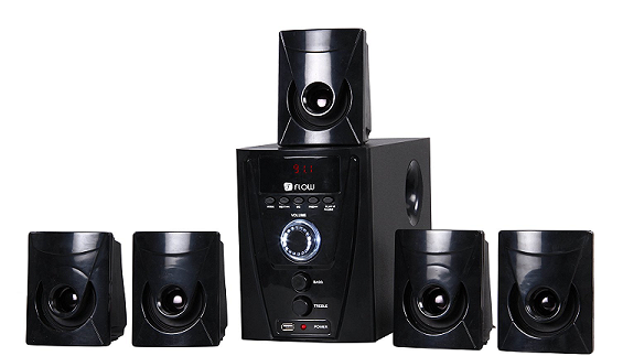 f80cbce9e The Flow Flash 5.1 Multimedia Speaker Home Theater System is by far the  best 5.1 home theater system 2016 that provides great value for the price.
