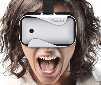 Ocular Rapid Virtual Reality Glasses (WHITE)