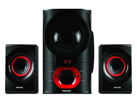 c0ce8a55a Philips is yet another well-known brand and its IN-MMS6060F 94 2.1 Multimedia  Speakers 6000W surely lives up to the reputation of the brand.