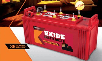 Exide 150Ah New Instabrite Inveter Ups Battery - 36 Month Warranty