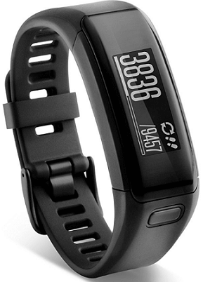 Garmin Vivosmart HR Activity Tracker, Regular (Black)