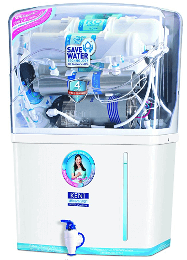 Kent Grand Plus 8-Litre Mineral RO + UV-UF with TDS Controller Water Purifier