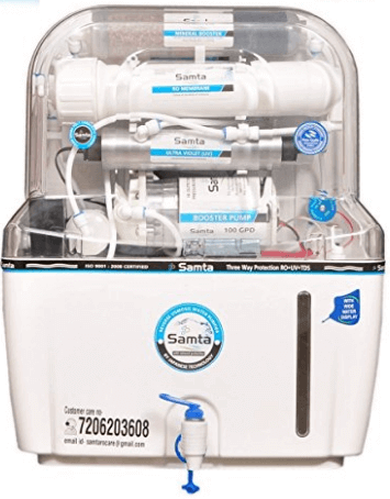 Samta Aqua 14 Stage Ro+Uv+Tds+Uf+4 Mineral Level Water Purifier