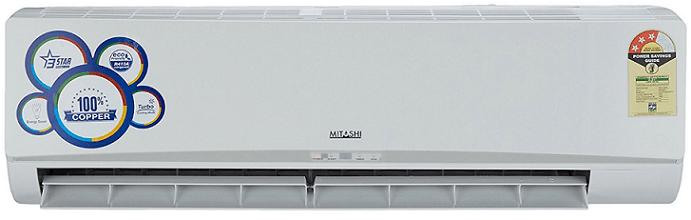 Mitashi 1.5 Ton 3 Star (2017) Split AC (SAC3S18K100, White)