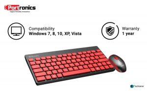 Portronics Wireless Keyboard & Mouse