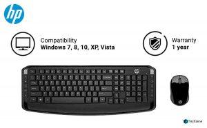 HP 3ML04AA Wireless Keyboard & Mouse
