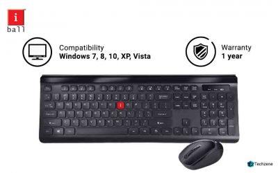 iBall Wireless Keyboard & Mouse