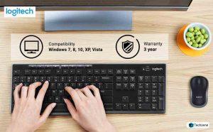 Logitech mk270r Wireless Keyboard & Mouse
