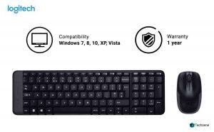 Logitech MK215 Wireless Keyboard & Mouse