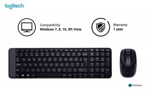 Logitech MK215 Wireless Keyboard & Mouse