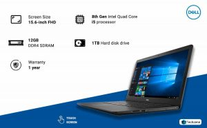 "Dell Inspiron 5570 15.6"" Full HD Touchscreen Laptop"