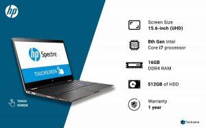 HP Spectra x360 Touchscreen Laptop