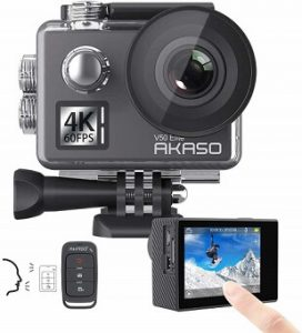 AKASO V50 Elite 4K 60fps WiFi Action Camera