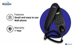 Binatone Trend 1 Corded Landline Phone