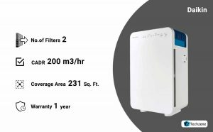 Daikin MC30 Room Air Purifier (White)