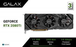 GALAX GeForce® RTX 2080Ti SG 11GB GDDR6 352-Graphic Card