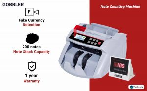 GOBBLER GB5388 Currency Counting Machine