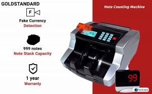 GOLD STANDARD Currency Counting Machine