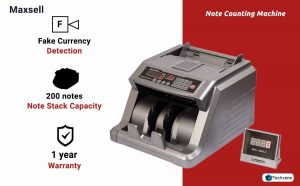 Maxsell Mx50 Currency Counting Machine