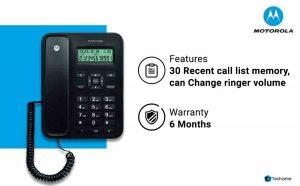 Motorola CT202i Corded Phone With Caller ID & Speaker Phone