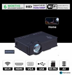 NISHICA UC46 WiFi LED HD Projector