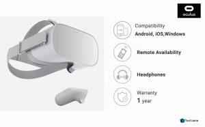 Oculus Go Standalone Virtual Reality Headset inbuilt 32gb