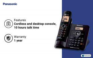 Panasonic KX-TG3811SX Digital Cordless Telephone