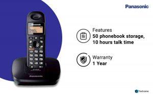 Panasonic KX-TG3611SX Digital Cordless Telephone