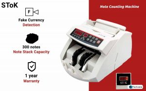 Stok Currency Counting Machine