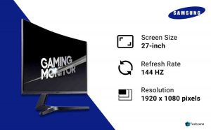 Samsung 27-inch Curved 144 Hz Gaming Monitor