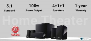 Yamaha NS-P41 Black 5.1 Channel Home Theatre Speaker